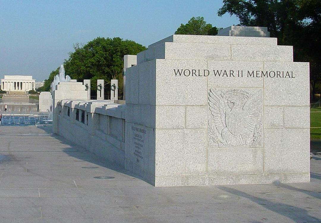 Crowd storms world war ii memorial the houston free thinkers
