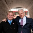 Thordarson with Julian Assange. Photo: Courtesy Sigurdur Thordarson