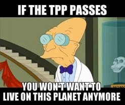 No-Brainer Course In Derailing The Trans-Pacific Partnership