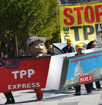 Congress introduces Obama fast-track authority on global trade pacts like TPP