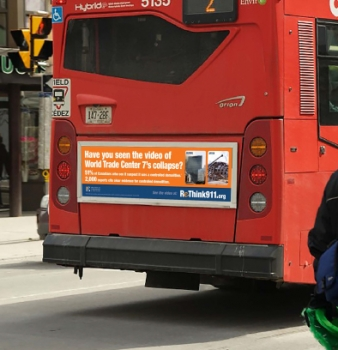 More 9/11 'truther' ads to hit Ottawa buses
