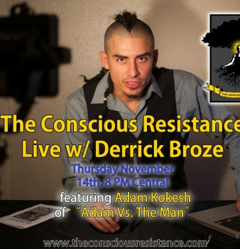 The Conscious Resistance Live Set To Launch November 14th