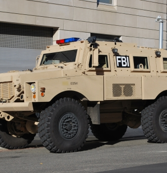 "Dallas County Now Has Its Very Own Bulletproof, ""Mine-Protected"" Military SUV"