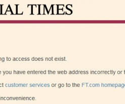 Here Is The FT's Gold Price Manipulation Article That Was Removed