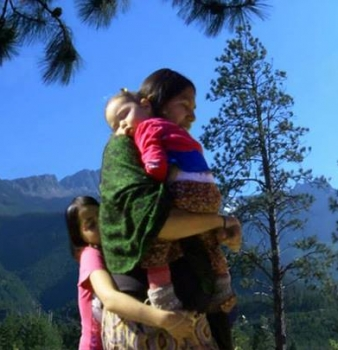 First Nations Woman Defies Government to Raise Children off the Land
