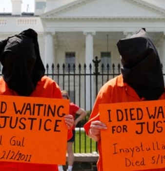 Hunger strike at Guantanamo Bay shows signs of weakening