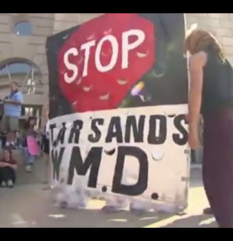 Residents React to Keystone XL South Pipeline Startup (VIDEO)