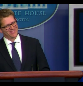 Jay Carney ducks Angry Birds surveillance question