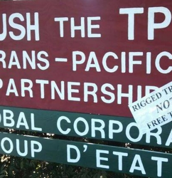 Wikileaks Releases Another Set of Trans-Pacific Partnership Documents