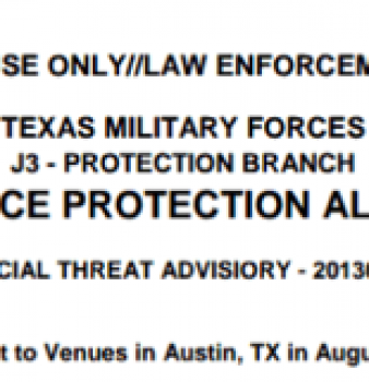 Austin terror threat alert coincides with homeland security drills