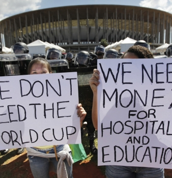 Brazil Is Criminalizing Protests Ahead of World Cup