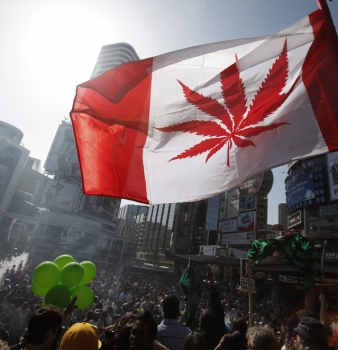 Canadian woman barred from U.S. after admitting marijuana use