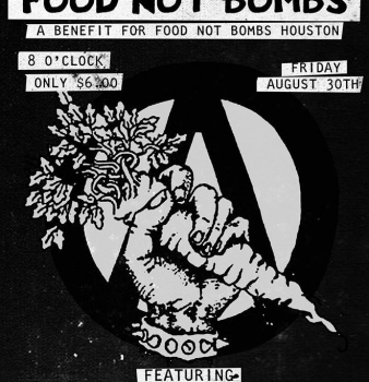 Food Not Oppresion August 30th