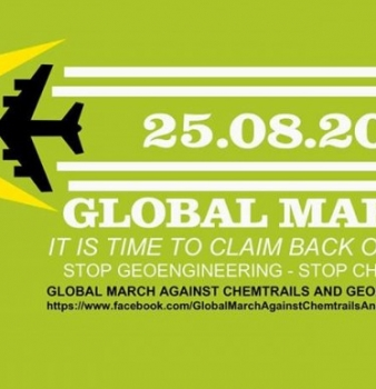 Activists to hold global marches on Geo-Engineering awareness August 25th