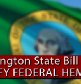 Washington State house votes to nullify federal hemp ban, 97-0