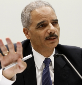 Eric Holder: 'No reporter is going to go to jail.'