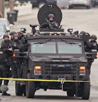 Local Departments Fortify Police State With Armored Personnel Carriers
