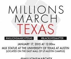 'Millions March Texas' to protest discrimination, police brutality