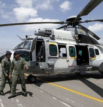 Mexican military chopper crosses the border, shoots at agents