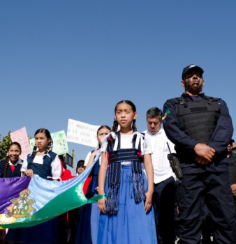 INDIGENOUS GOVERNANCE SYSTEM PROVIDES A MODEL FOR COMMUNITY DEFENSE IN MEXICO