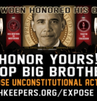 The OathKeepers organization pushes NSA awareness billboard campaign