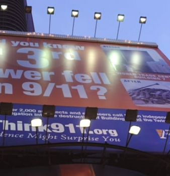 ReThink911 Campaign Raises Funds to Keep Billboard in Times Square through October