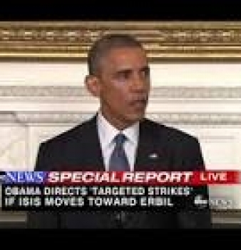Obama Authorizes Air Surveillance of ISIS in Syria