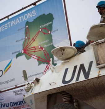 United Nations Peacekeeping force Invades the Congo